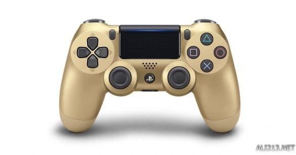 索尼公布PS4手柄全新颜色 游戏的同时彰显土豪气质