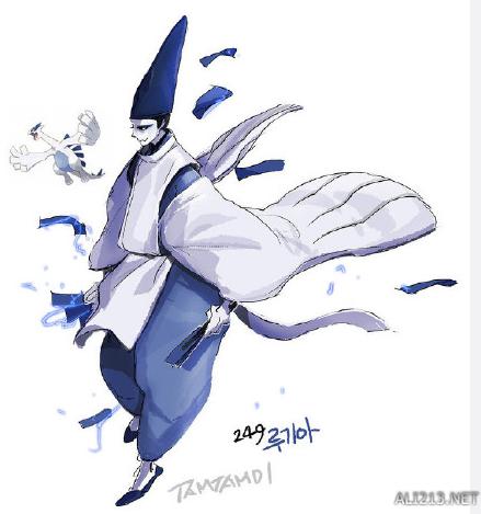 韩国画师将《口袋妖怪》拟人化 火伊布变身性感女郎