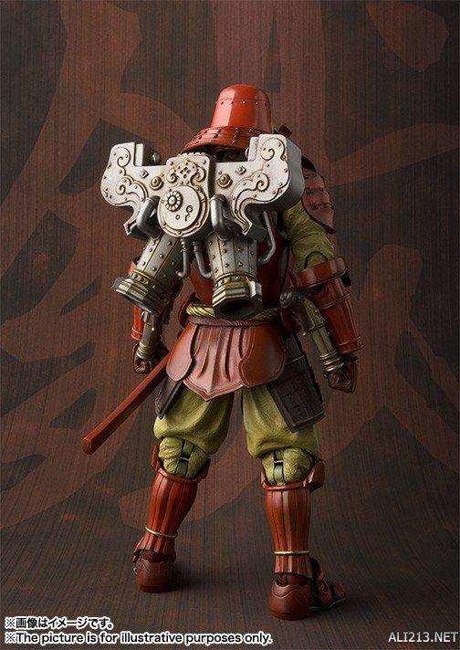 钢铁侠化身日本武士!万代推出武士风格钢铁侠