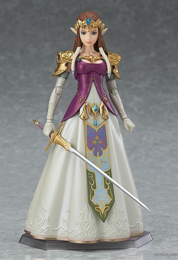 《塞尔达传说:黄昏公主》手办 美腻公主亦能弯弓射雕