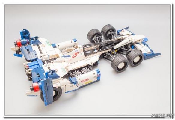 中国乐高玩家好会玩!创作方程式赛车搭配超帅推进器