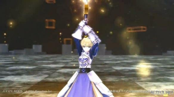 《Fate/EXTELLA》新演示Saber霸气外露 限定版PS4/PSV造型公布