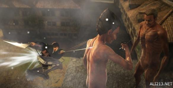 《进击的巨人》游戏新作已完成30% 竟可与兵长组CP!