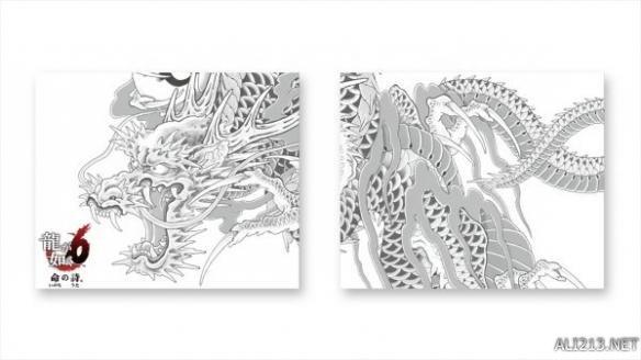"""主机的顶盖上的有着桐生一马的纹身""""应龙""""的图案,华丽而有气势,如龙"""