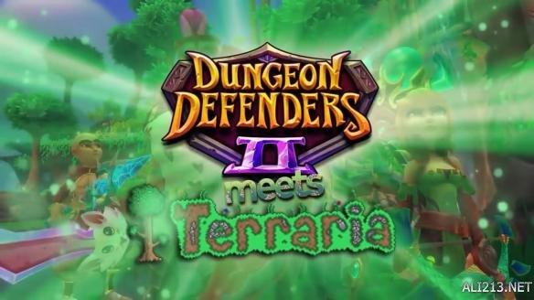《地牢守护者2》与《泰拉瑞亚》联动 穿越时空的战斗