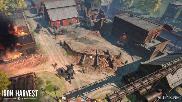 RTS新作《钢铁收割》正式公布 打造机甲称霸一战时期