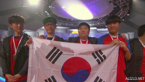 《守望先锋》世界杯韩国战绩全省拿下总冠军!