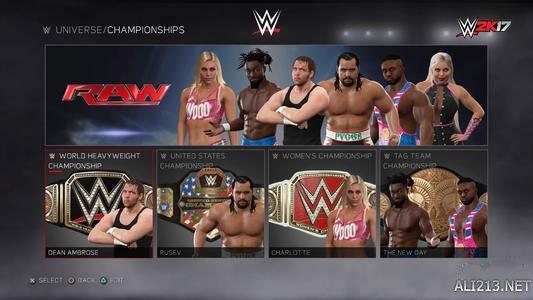 《WWE 2K17》PS4補丁發布 優化裁判系統修復眾bug
