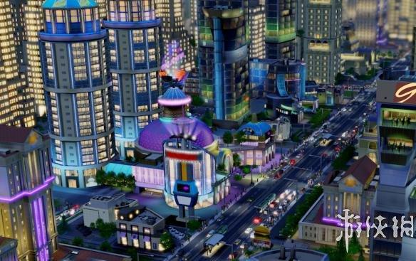 策略游戏《模拟城市4》MOD建筑竟然是美国监听大楼