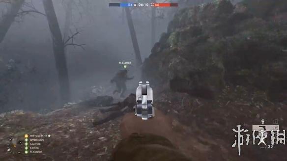 《戰地1》戰爭迷霧模式演示 手槍上陣玩法更加刺激