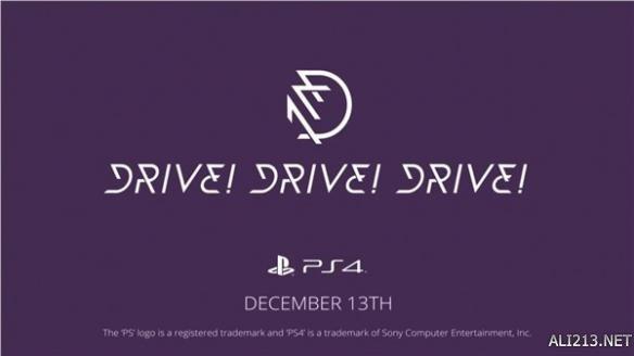 全新赛车竞速游戏《冲!冲!冲!》将于12月13日发售