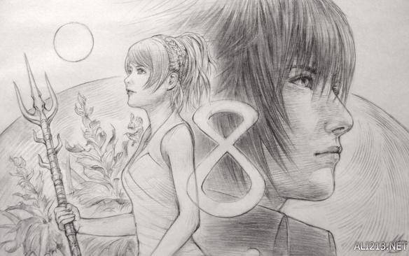 《最终幻想15》官推宣传图藏深意 王子公主或天各一方