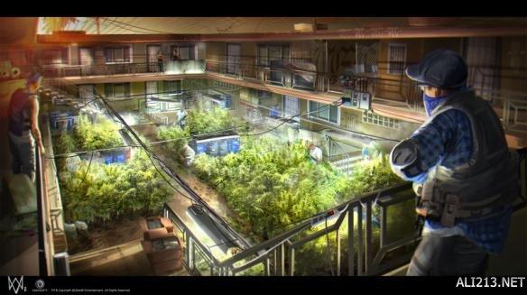 《看门狗2》海量艺术概念图赏 精美画面首赞育碧美工