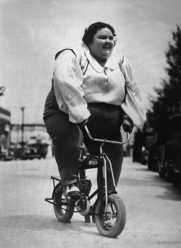 历史上最奇葩的自行车 方的圆的皆有最后一辆十分危险