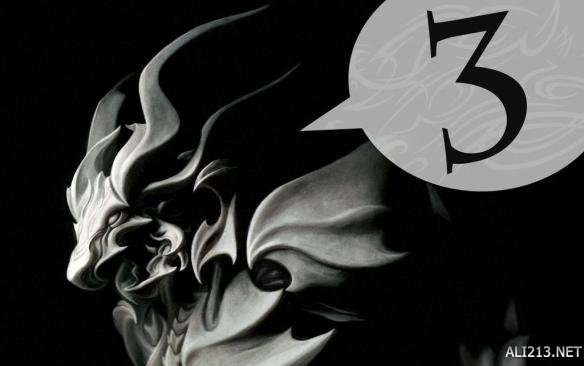 《最终幻想15》倒计时3天贺图 龙神巴哈姆特酷炫登场