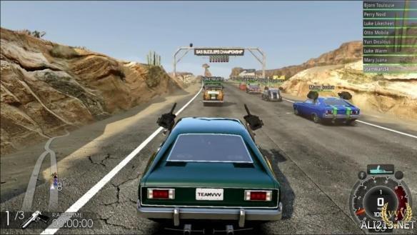 《燃油机车:狂热》Xbox One实机视频 疯狂赛车杀戮