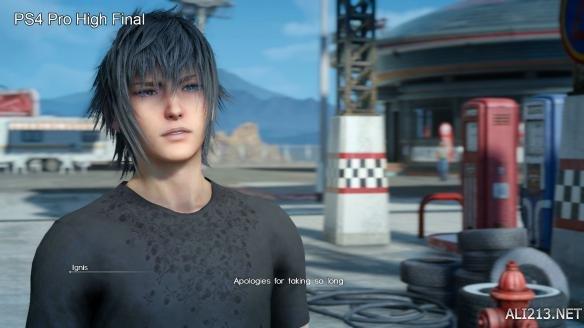 《最终幻想15》正式版截图对比试玩版 席德妮更性感? 游戏 第8张