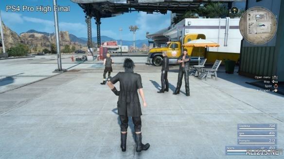 《最终幻想15》正式版截图对比试玩版 席德妮更性感? 游戏 第10张