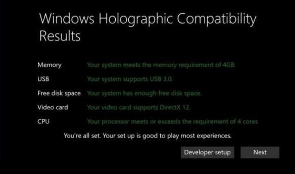 """低配PC也能跑Win10 VR?也许微软给你的是""""假象"""""""