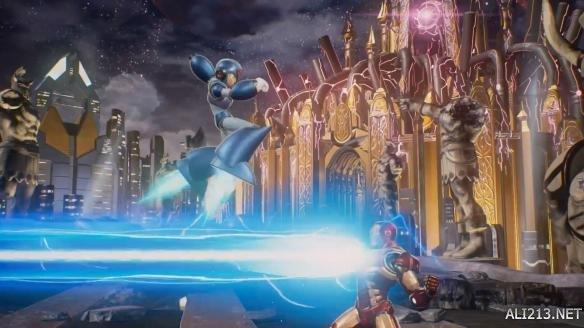 《漫画漫画vs卡普空:公布》首部游戏试玩预告片无限!卡普空死斗漫威神语英雄图片
