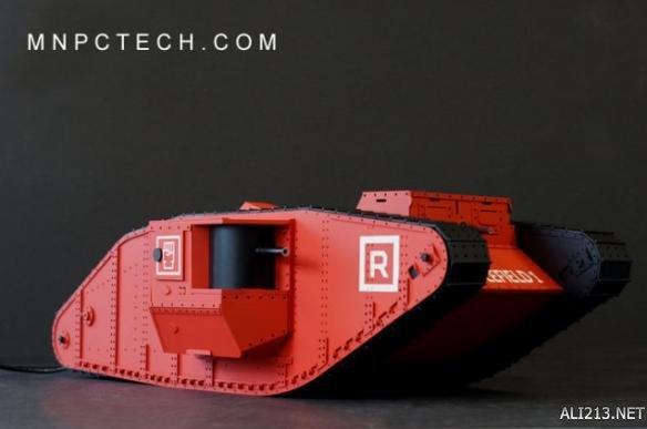 新开传世网站厉害了我的哥!国外大神打制《疆场1》坦克同款机箱