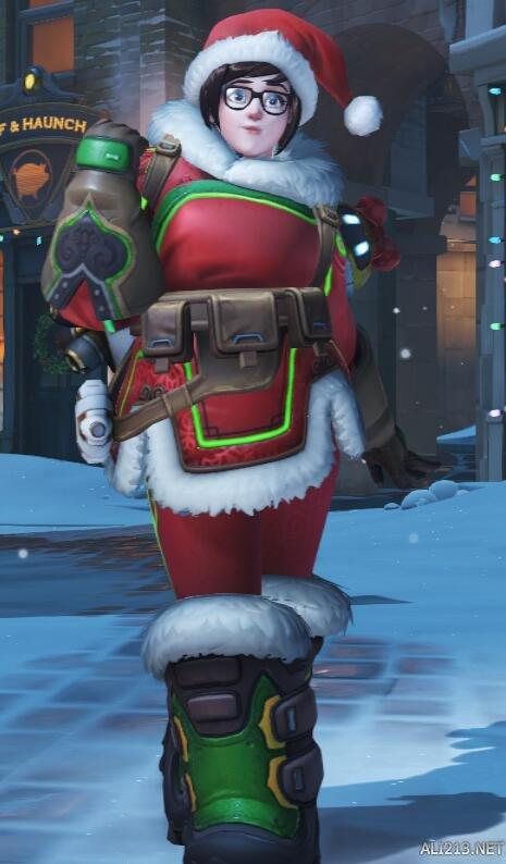 最新传世网《守望前锋》圣诞小美皮肤惹争议 暴雪老迈出头具名回应