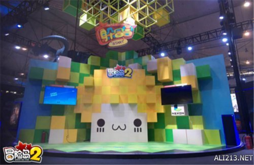 《冒险岛2》携vr参战萤火虫动漫游戏嘉年华