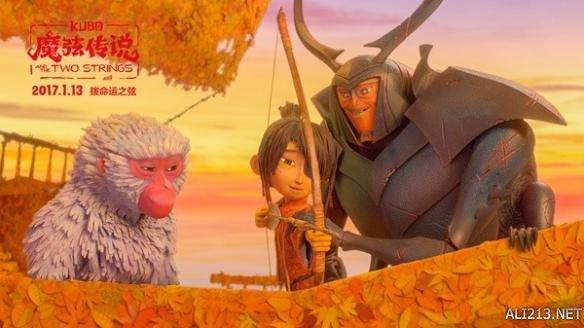 《魔弦传说》   这部超口碑动画力作以日本文化为背景,讲述了生活在海边的小男孩久保无意中召唤邪恶的怨灵,为了拯救家人,他必须踏上一场奥德赛式征程的故事。   这部影片长度为101分钟,成为目前为止世界上最长的定格动画电影,惊人的视觉体验,真诚的内核,莱卡领军人塔拉维斯·科奈特造就的日本武士奇幻之旅把感情融进了定格动画里。   影片在国外上映至今,烂番茄评分高达97%,在业内最严格苛刻的评分网站MTC上也拿到了84分的高超评价,超越《疯狂动物城》的78分,成为奥斯卡最大热门之一。   推荐