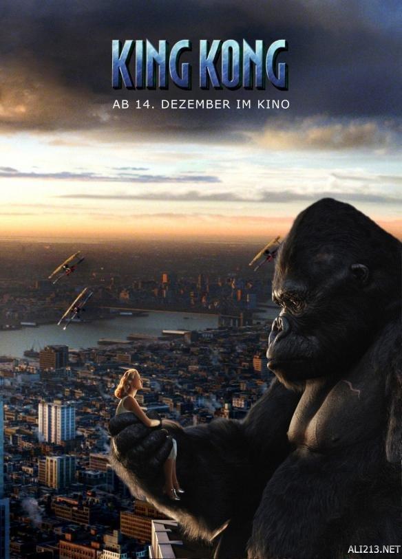 《金刚:骷髅岛》曝横版全新海报《金刚狼3:殊死一战》