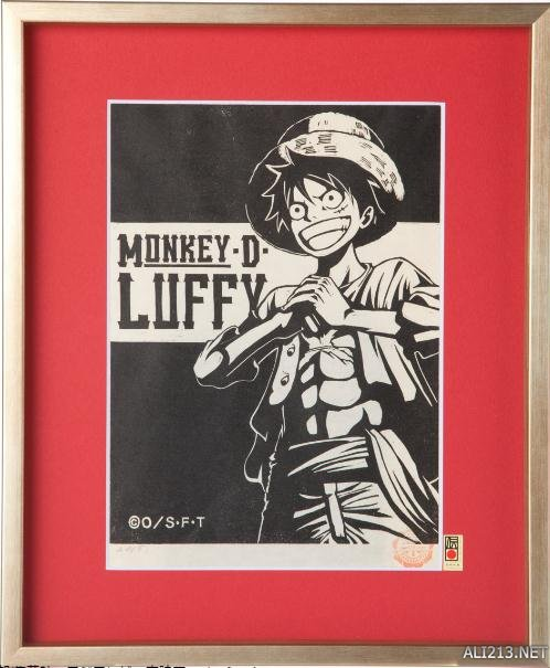 《海贼王》主题限量精致木版画亮相 售价17500日元