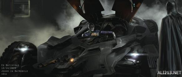 画面原版设计 蝙蝠侠VS小丑