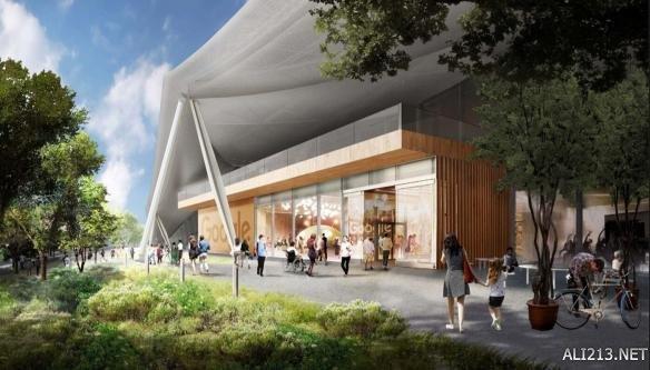 """据爆料者称,谷歌希望新的园区更像是""""当地社区常去的地点""""。所以设计中的会有一个绿色空间,不仅仅对员工开放,周围的居民也可以享受。谷歌还计划新建一些小公园和一个广场,里面设置餐饮等设施。为了不影响员工的工作,员工会被安排在新大楼的二层。"""