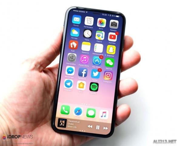 iPhone 8原型机惊艳概念图 惊艳程度远超三星S8?
