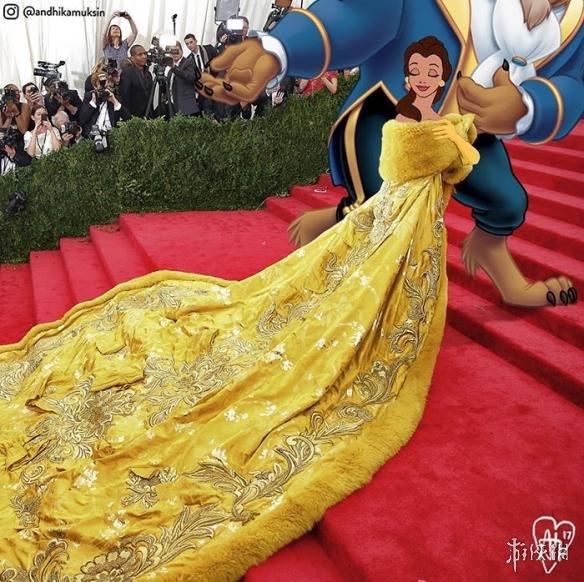 迪士尼里人物PS到现实生活中 王子竟然和王子