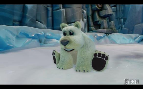 polar是一只可爱的小北极熊
