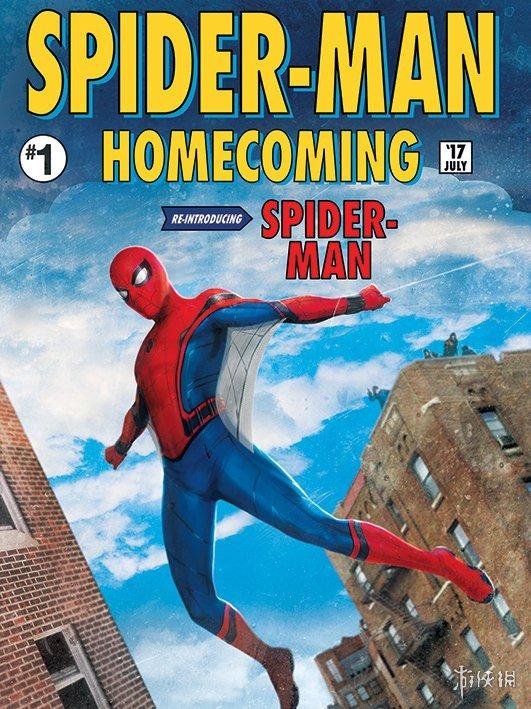 《蜘蛛侠》第二部片段与大量海报 小虫钢铁侠甜蜜互动国产电影《拳皇
