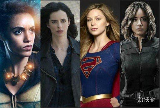 <b>11位活跃在美剧中的超级女英雄 震波女好有画面</b>