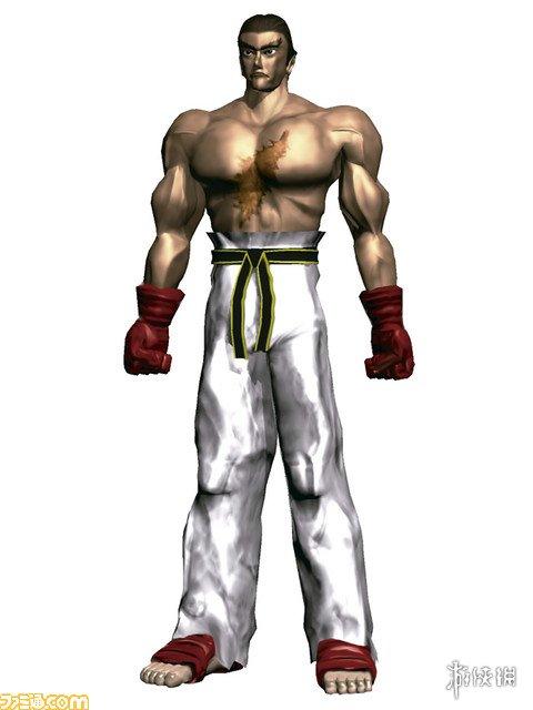 三岛一八   三岛一八是《铁拳》系列的主人公,在初代就已经登场.