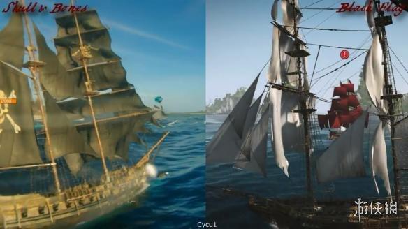 下骸骨大的囹�a_《骷髅与骸骨》对比《刺客信条:黑旗》海战游戏画面 育碧的海贼王之梦