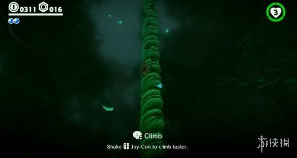 《超级马里奥:奥德赛》森林王国场景试玩 马里奥爬树十分麻利!
