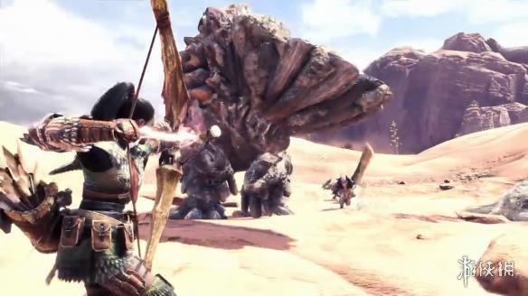 《猎人世界兽巴达表情包全新》全新v猎人PV游戏怪物放出画图片
