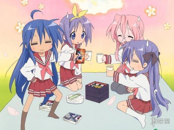盘点日本可爱萌妹子动画 听说晚上叠罗汉更刺激?