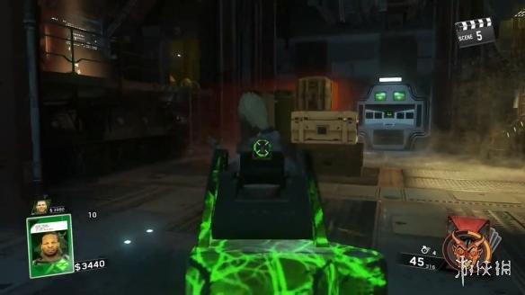 《使命召唤13:无限战争》dlc演示 传送门+小怪兽 对抗