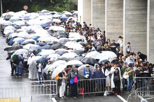 TGS2017:到处是人人人!东京游戏展现场盛况直击!