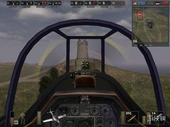 在《战地1942》中,你可以驾驶战斗机与敌人进行一场激烈的空战