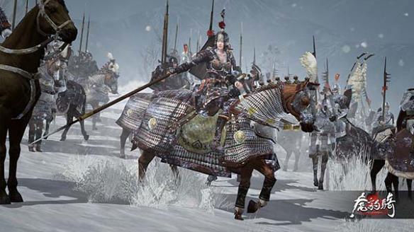 《剑网3》玩家恶搞《虎豹骑》? 眉间雪惨遭魔改