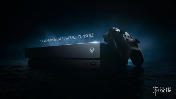 """微软Xbox One X巨资广告公布 地球最强""""真4K""""主机"""