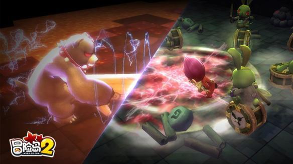 《冒险岛2》全球首展落户上海 魔都版本同步上线!