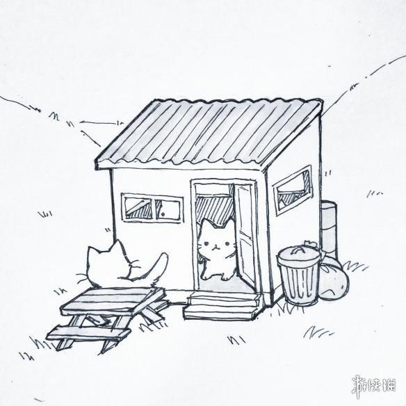 吃鸡游戏手绘图