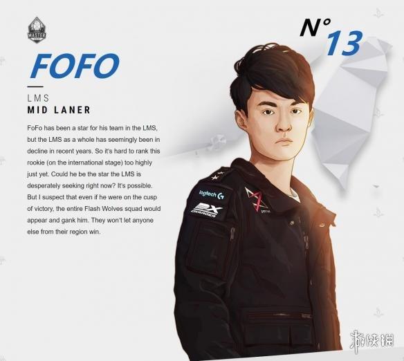 《英雄联盟/LOL》官方公布全明星solo赛战力排行 Faker第二Uzi被狂奶
